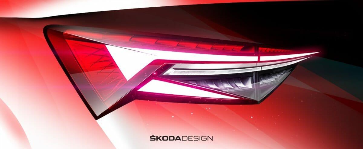 Skoda Kodiaq Facelift sketches (2)