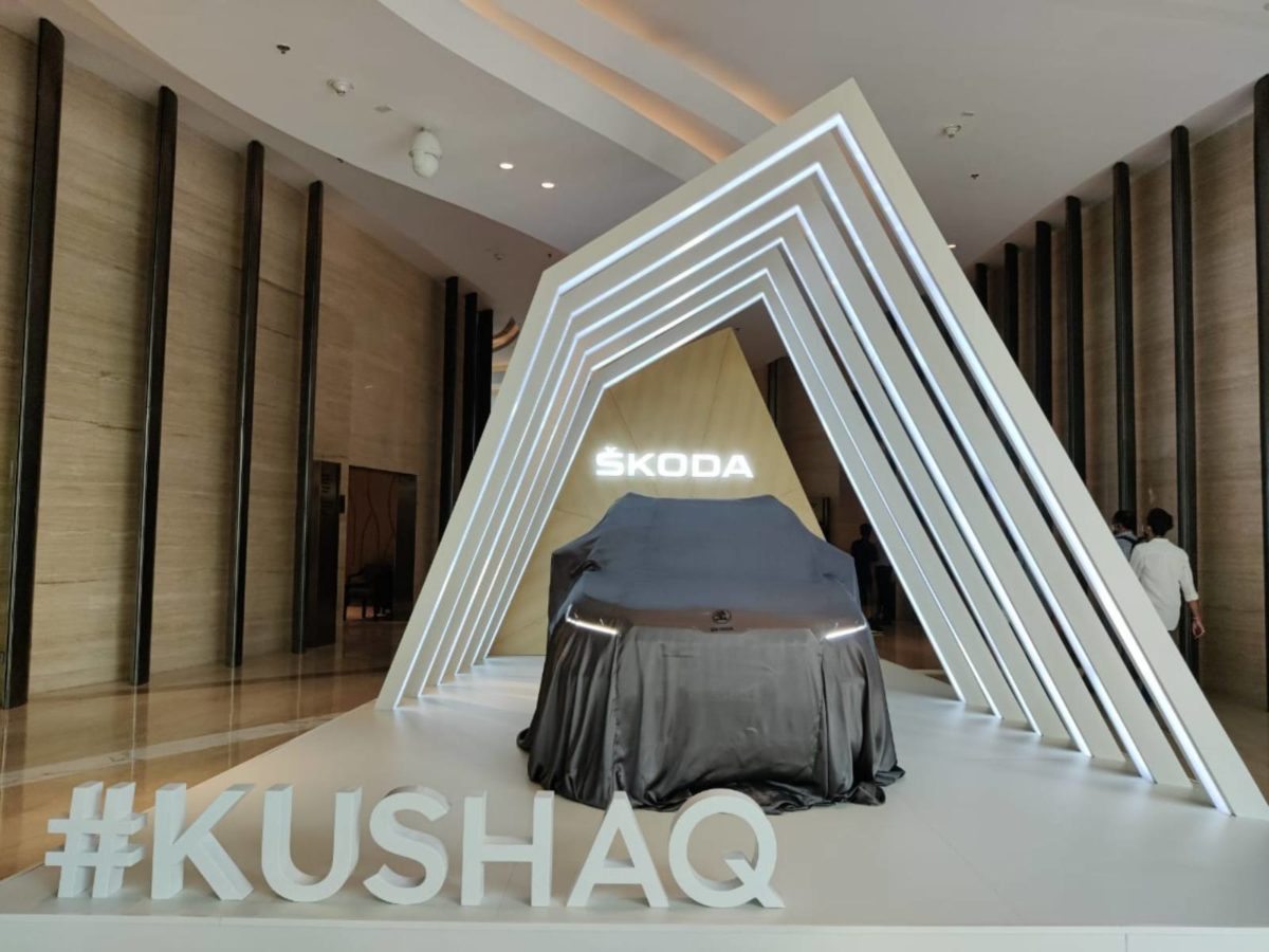 Skoda Kushaq unveiling event