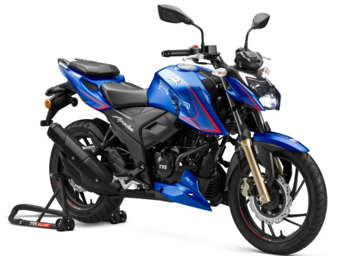 TVS Apache RTR 200 Single Channel ABS