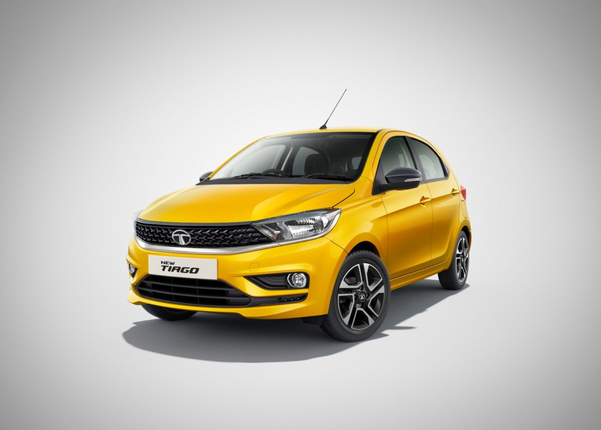 Tata Tiago Yellow
