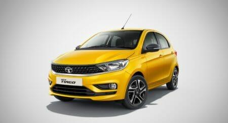 Tata Tiago yellow