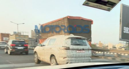 Tata safari spied again (1)