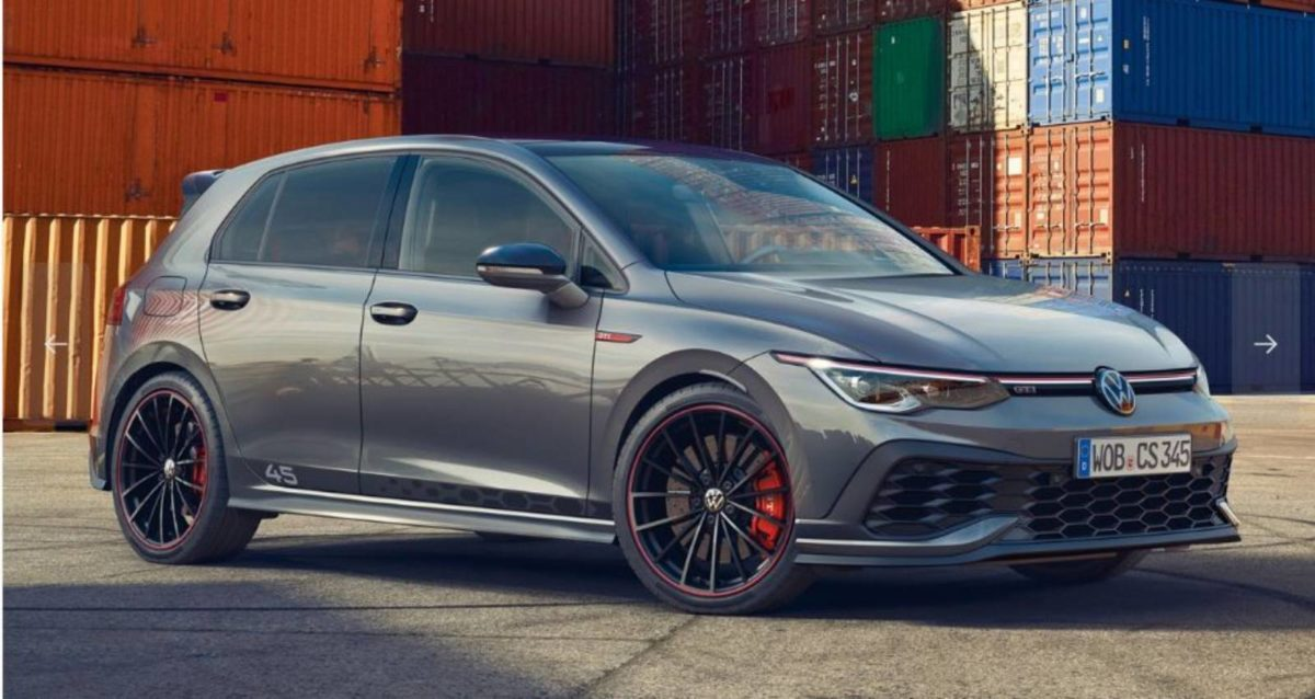 Volkswagen Golf GTI Clubsport 45 limited edition front 3 quarters