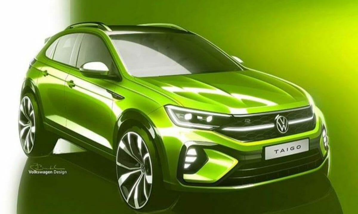 Volkswagen Taigo concept front 3 quarters