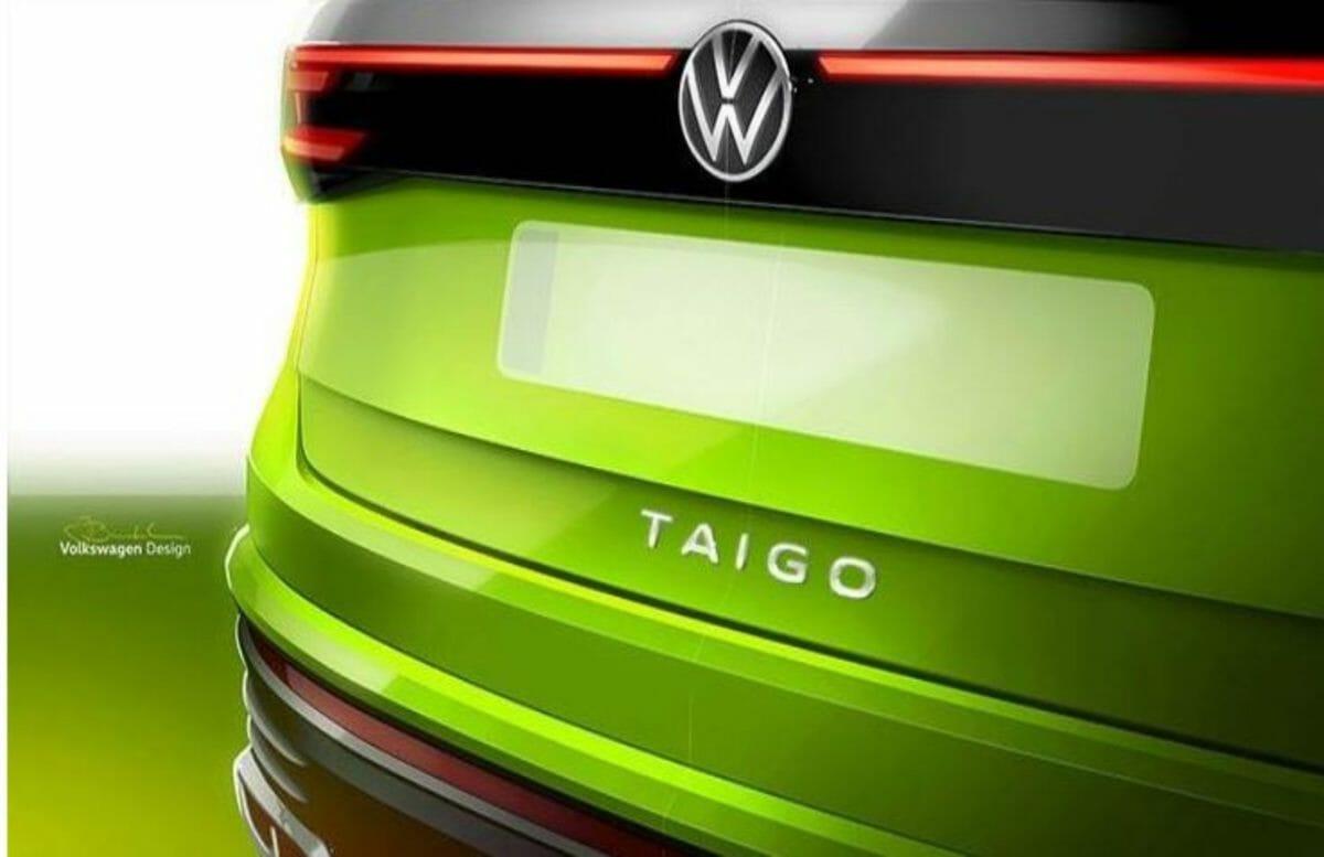 Volkswagen Taigo concept rear end