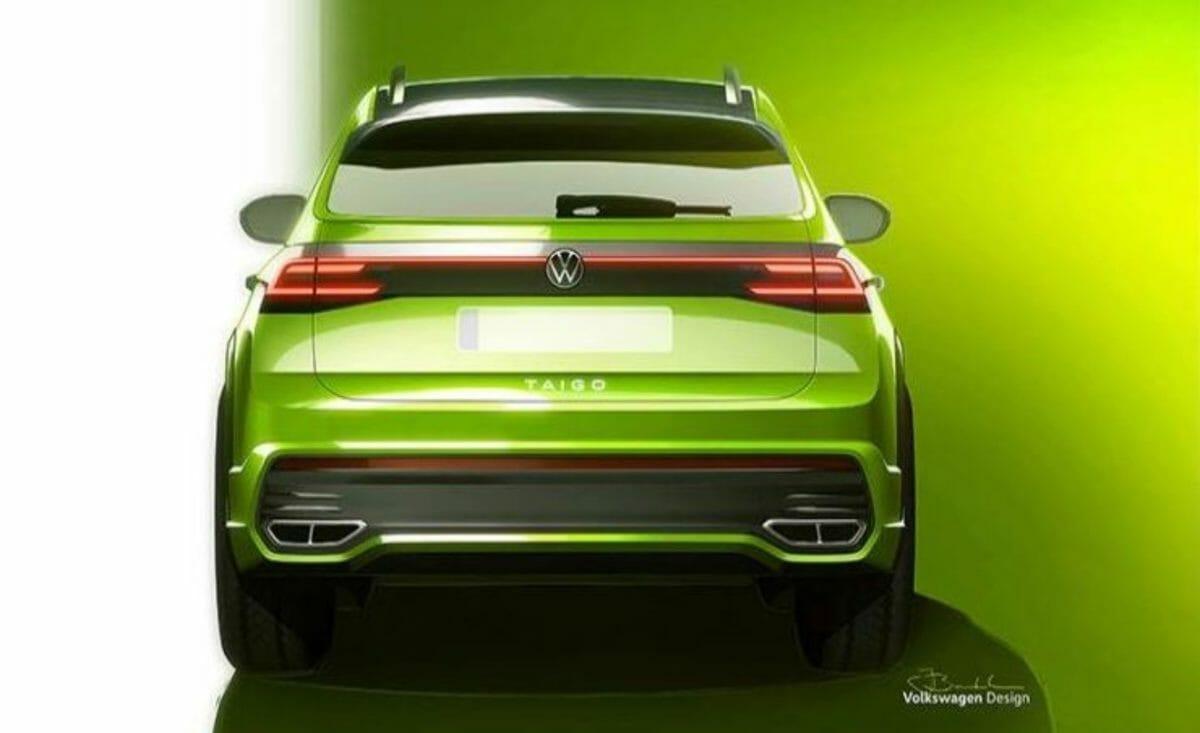 Volkswagen Taigo concept rear look