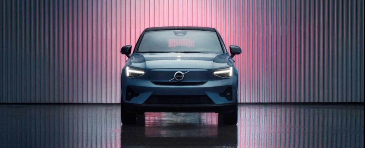 Volvo C40 Recharge front end