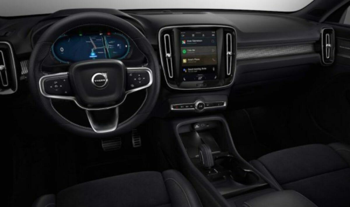 Volvo C40 Recharge interiors