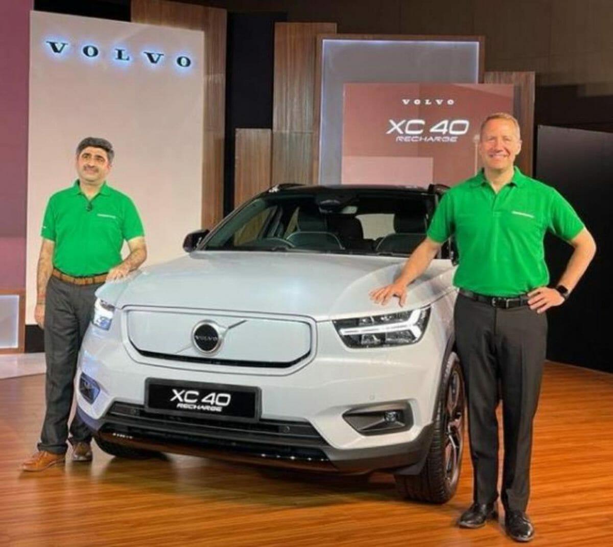 Volvo XC40 unveiled in India 2