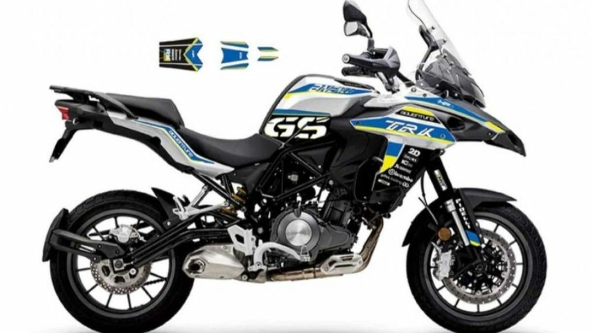 Benelli TRK 502 GS sticker kit (1)