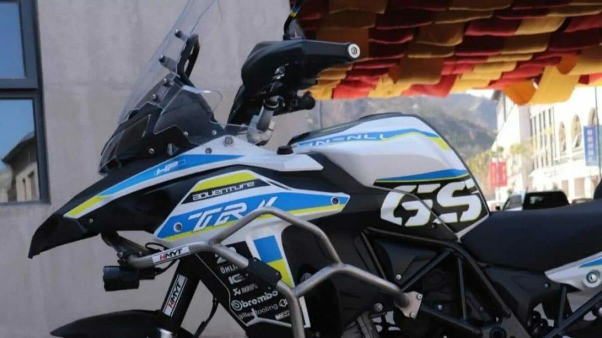 Benelli TRK 502 GS sticker kit (2)