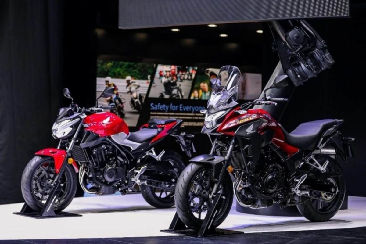 Honda CB400X and CB400F