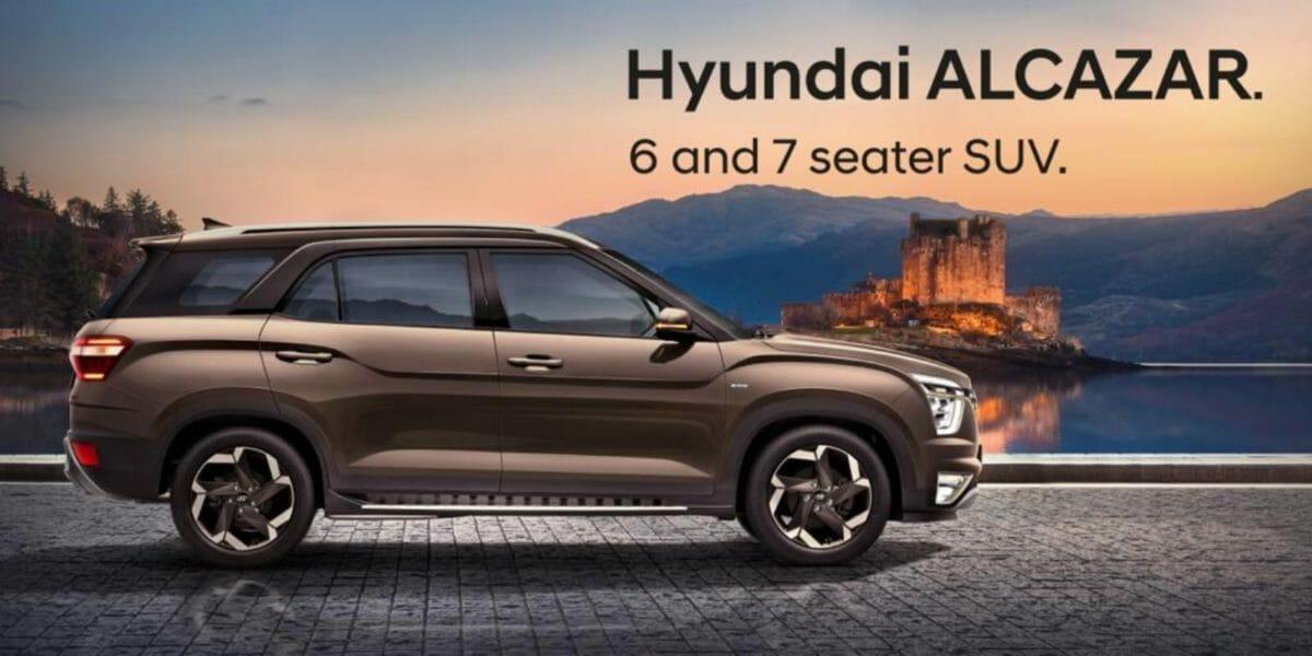 Hyundai Alcazar Unveield