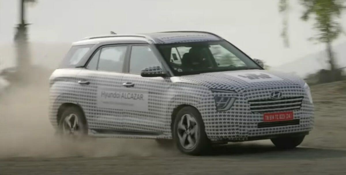 Hyundai alcazar teased again (2)