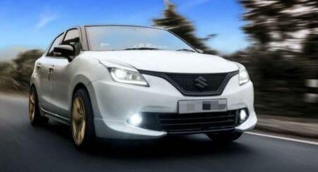Modified Maruti Suzuki Baleno (1)