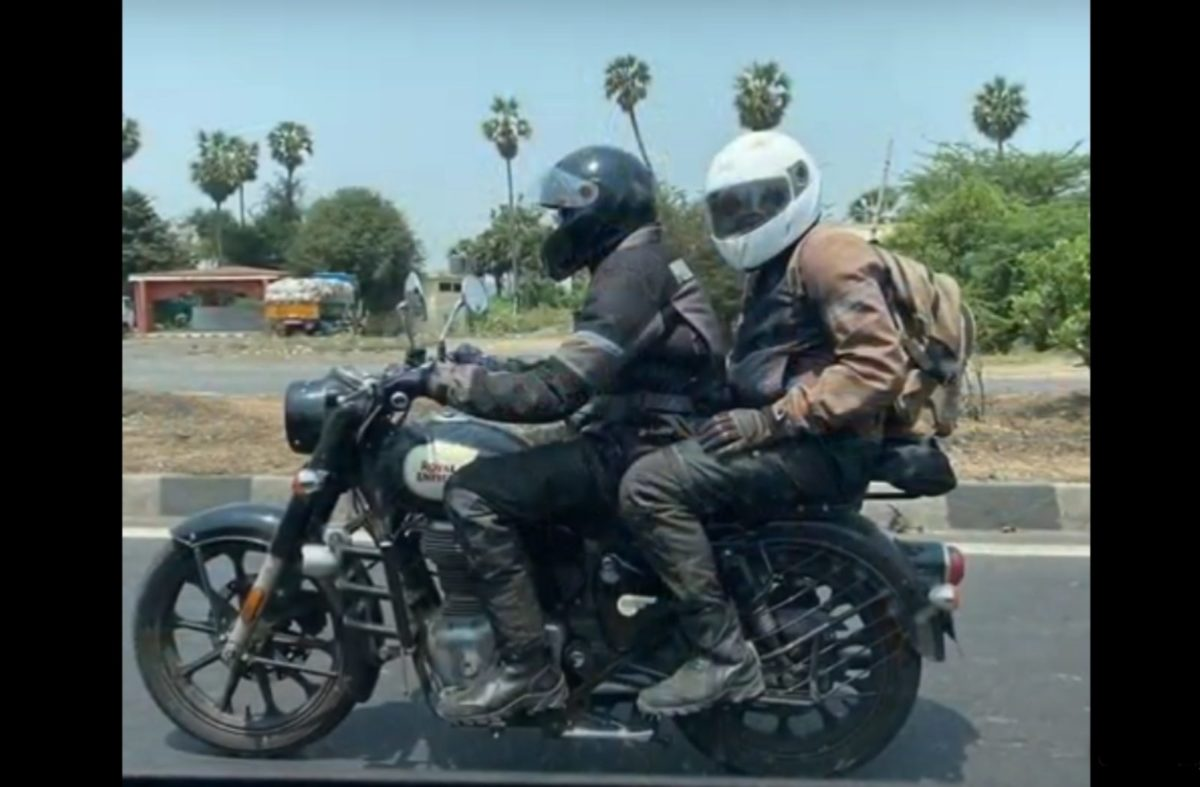 Royal Enfield Classic 350 spied again