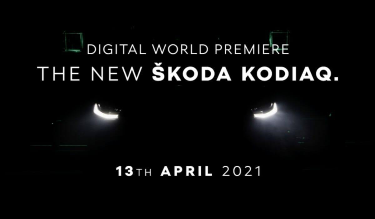Skoda kodiaq facelift teased
