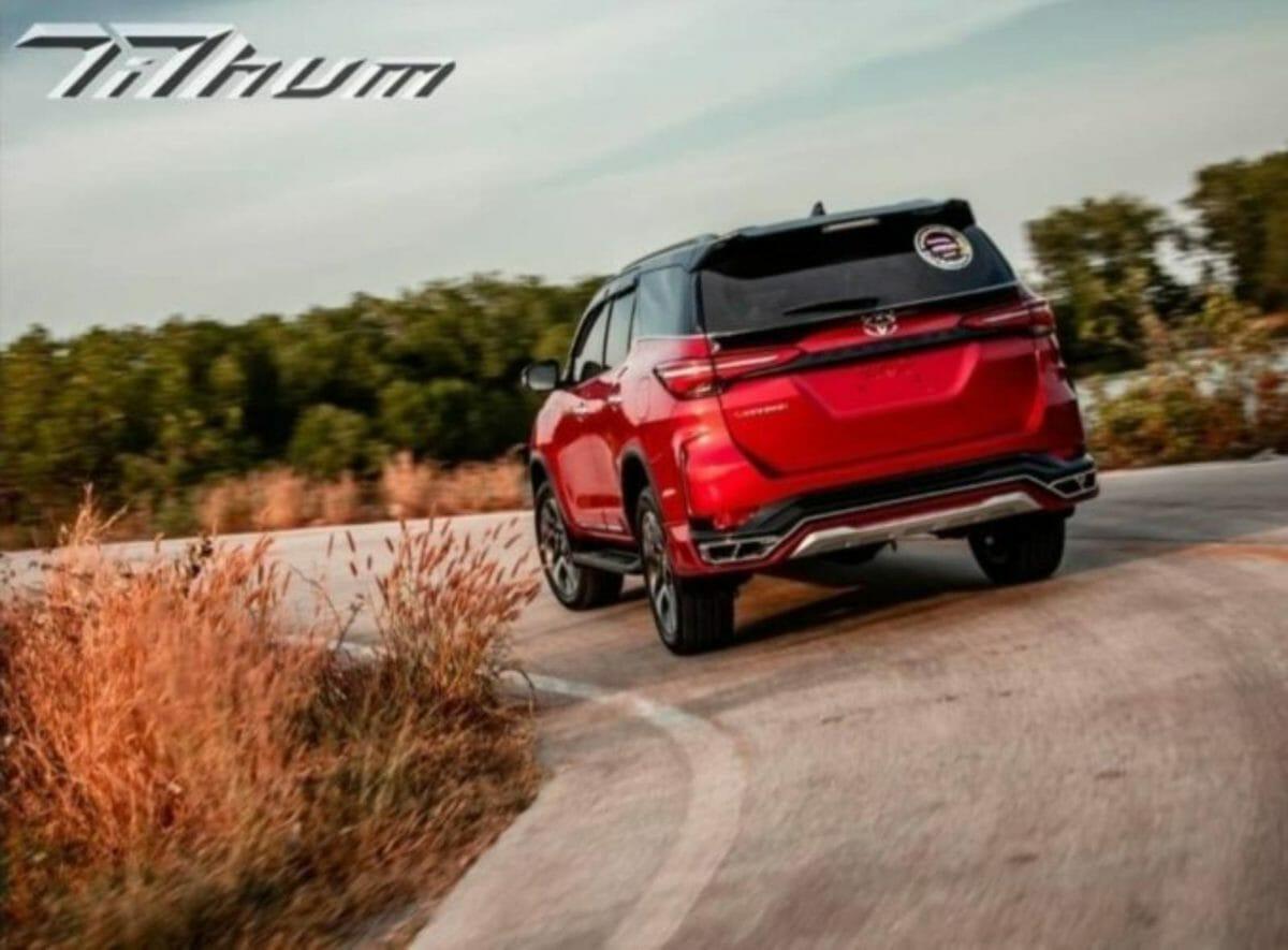 Toyota Legender custom body kit Tithum (1)