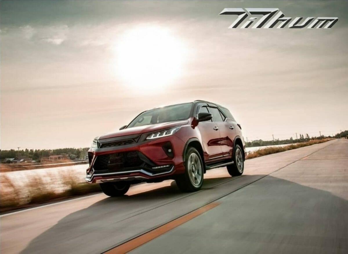 Toyota Legender custom body kit Tithum (2)