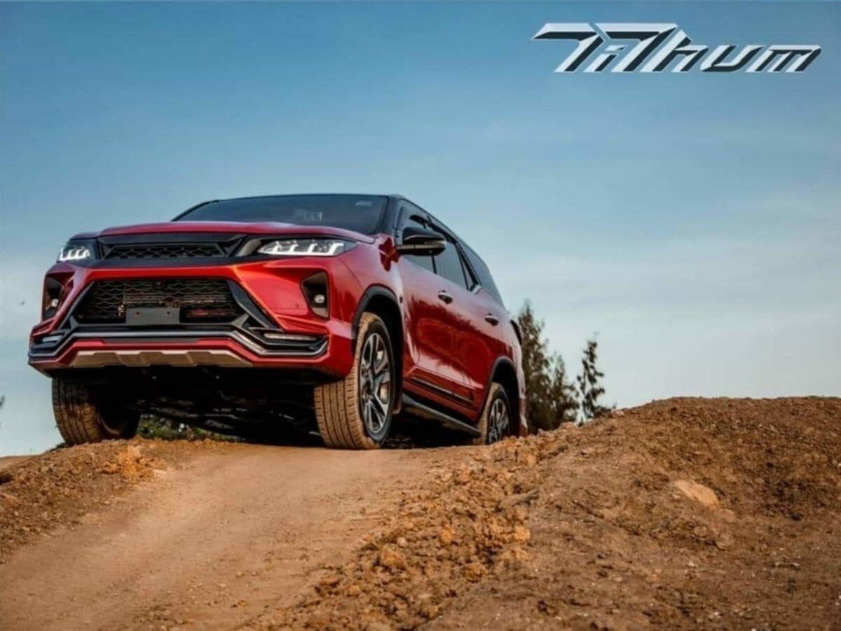 Toyota Legender custom body kit Tithum (3)