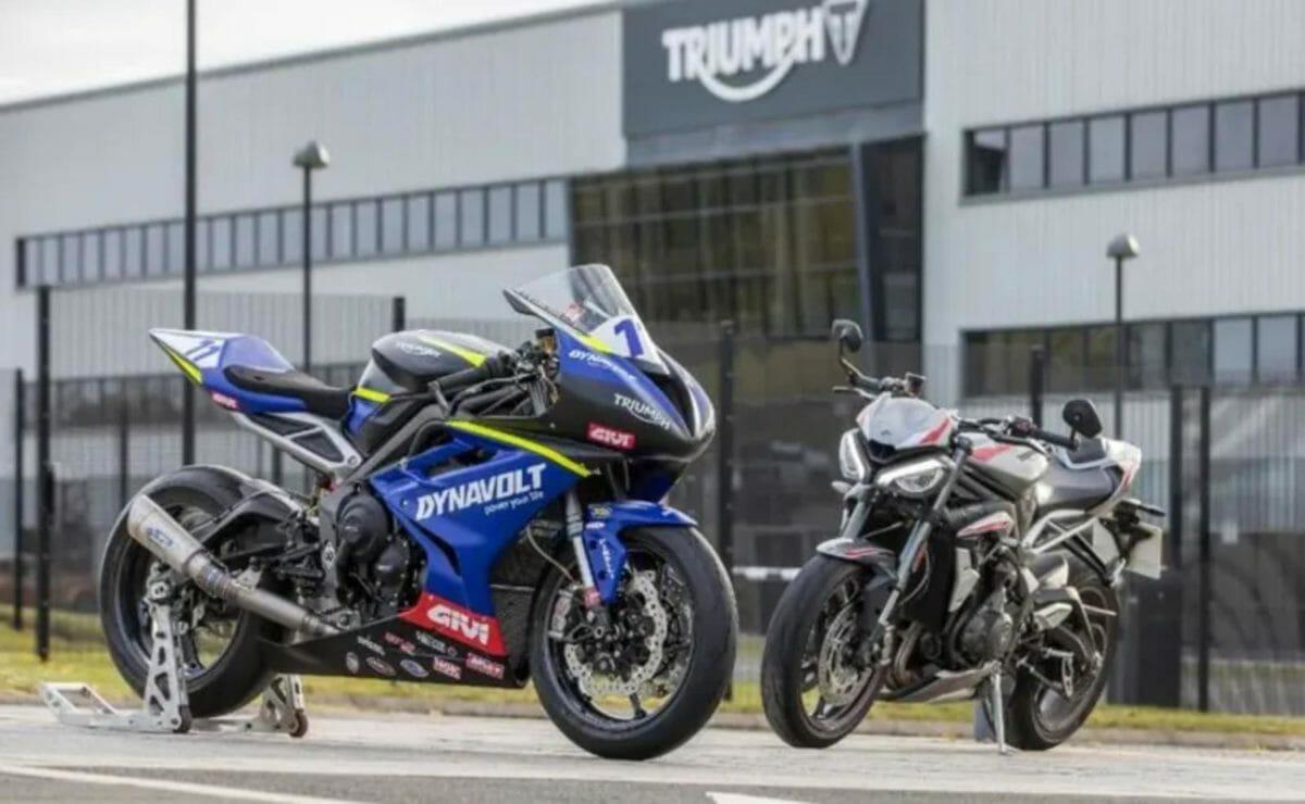 Triumph Dynavolt Street Triple RS