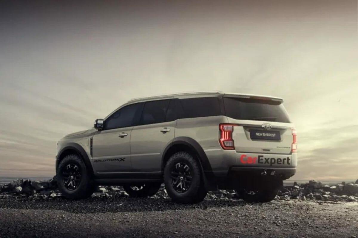 2022 Ford Endeavor Digital render (1)