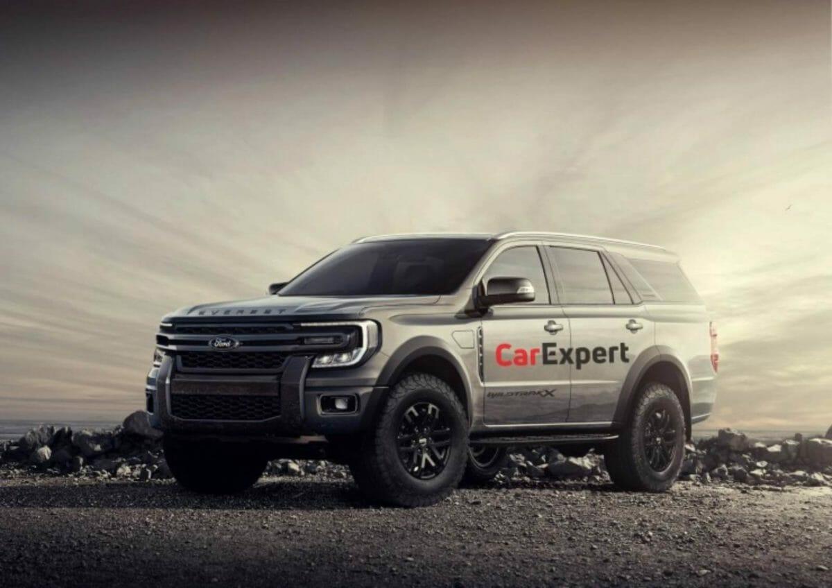 2022 Ford Endeavor Digital render