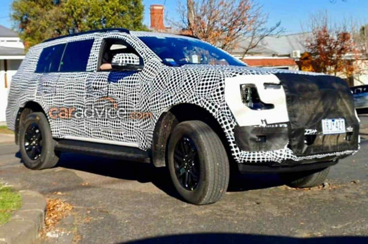 2022 Ford Endeavor_Everest Spied