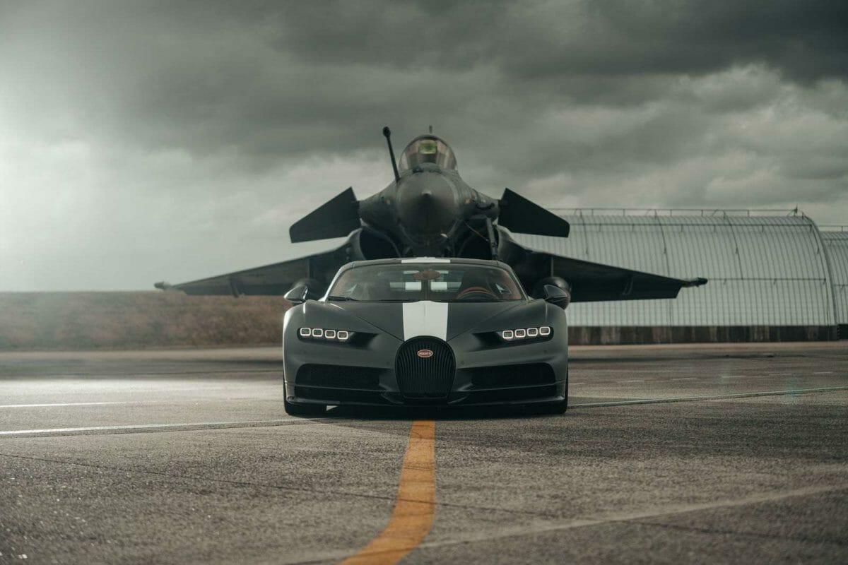 Bugatti Chiron VS Rafale (1)