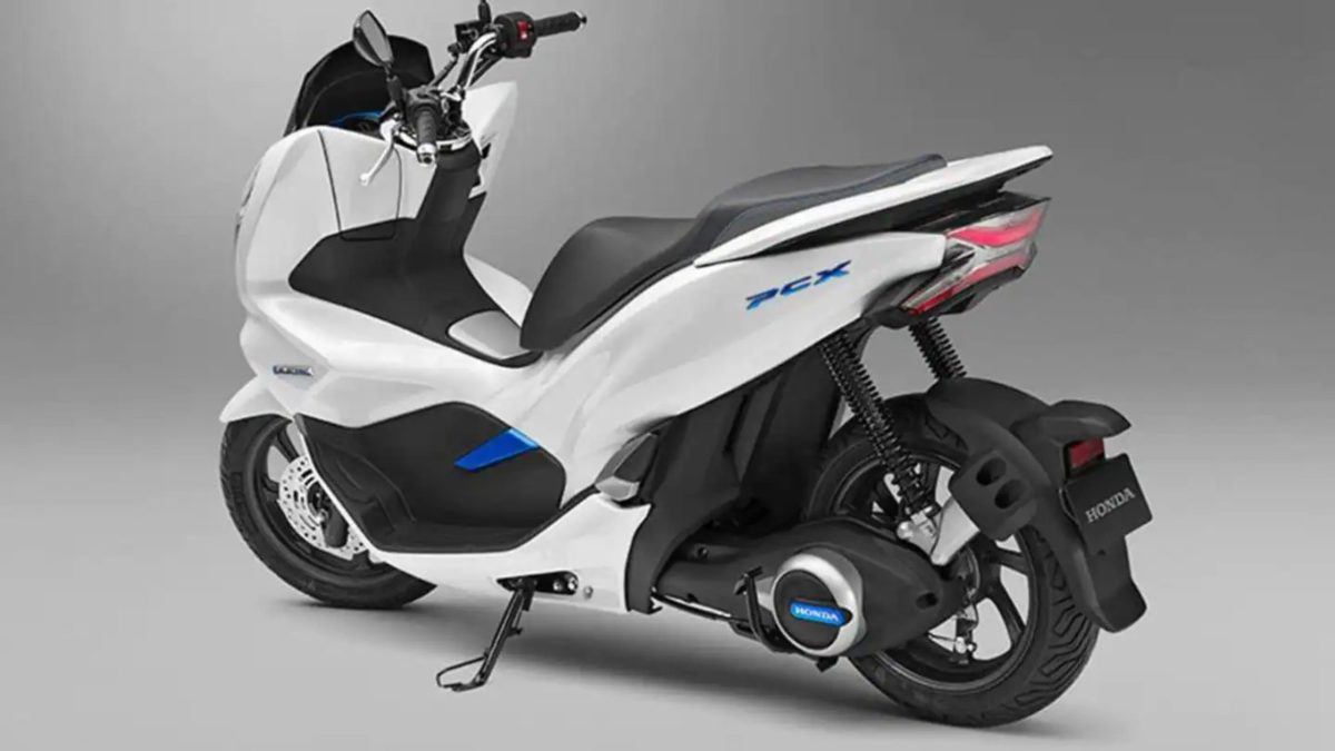 Honda PCX Electric scooter (1)