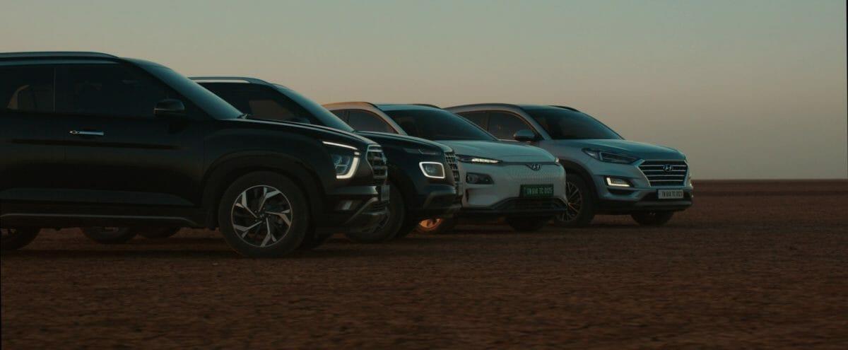 Hyundai Kona electric, creta, Tucson, Venue welcome Alcazar