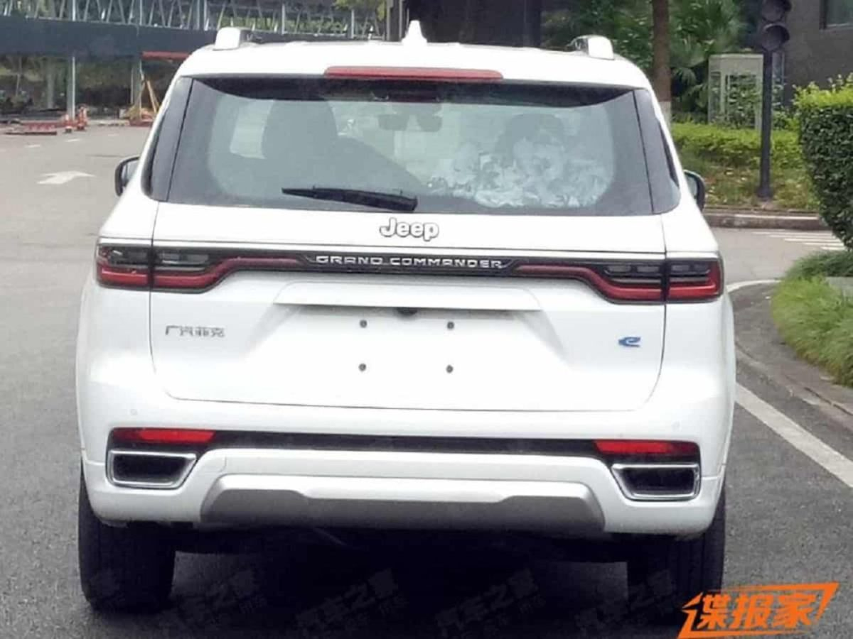 Jeep Grand Commander leaked