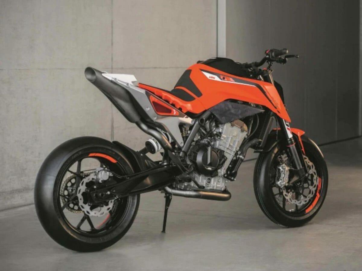 KTM 750 concept