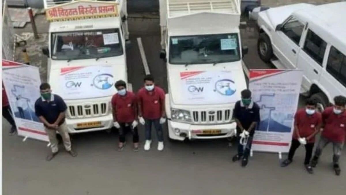 Mahindra oxygen express