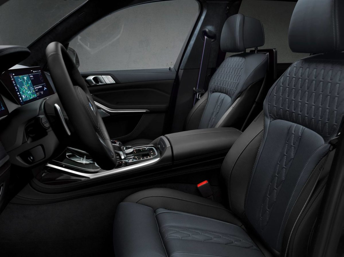 The BMW X7 Dark Shadow Edition_Interior 2