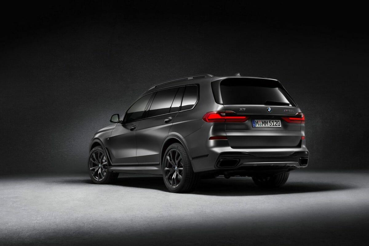 The BMW X7 Dark Shadow Edition_back