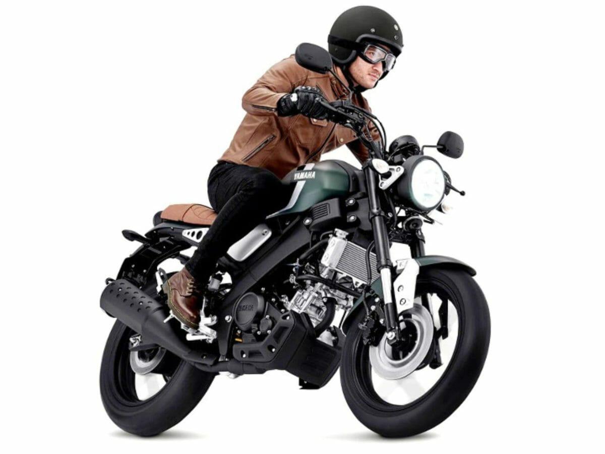 Yamaha XSR 155 matte green (1)