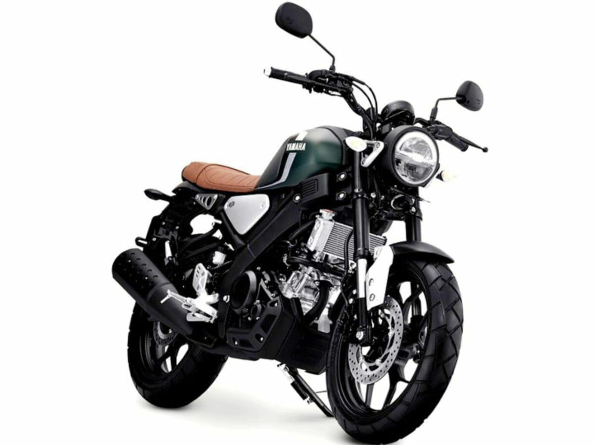 Yamaha XSR 155 matte green