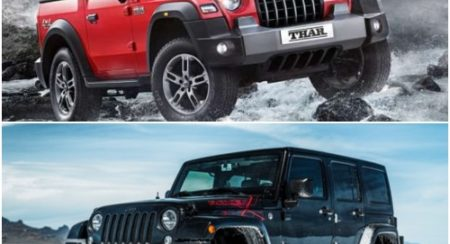 Mahindra And Jeep Are Beefing Again; Legal Battle Ensues In Australia Over Thar's Design