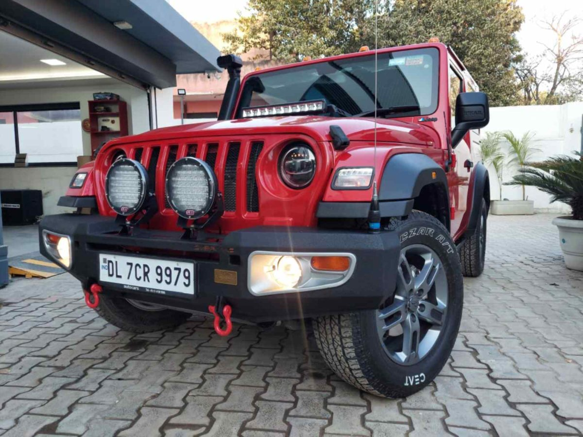 Azad 4×4 Mahindra Thar front bumper