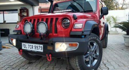Azad 4x4 Mahindra Thar front bumper