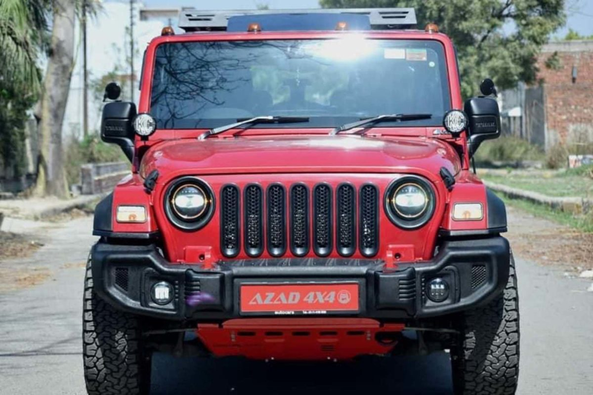 Azad 4×4 Mahindra Thar front grille (1)