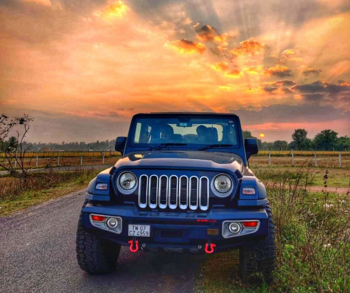 Azad 4×4 Mahindra Thar front grille