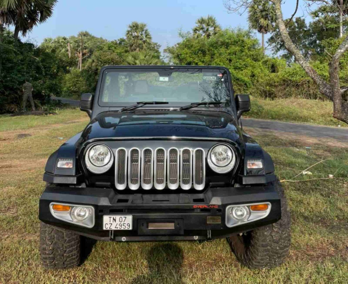 Azad 4×4 Mahindra Thar front grille (3)