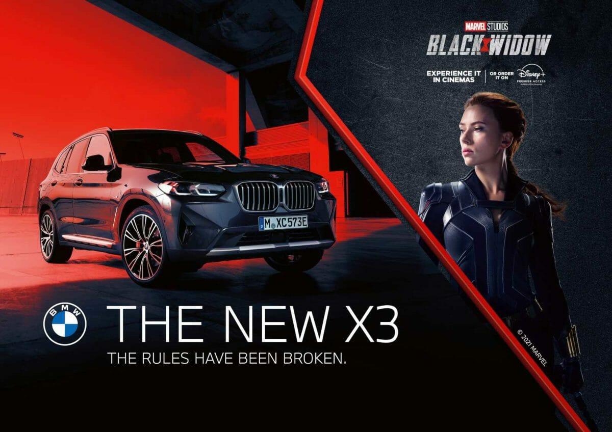 BMW X3 Black Widow