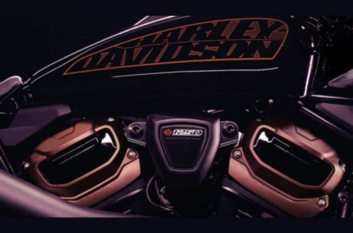 Harley Davidson Custom 1250 teased