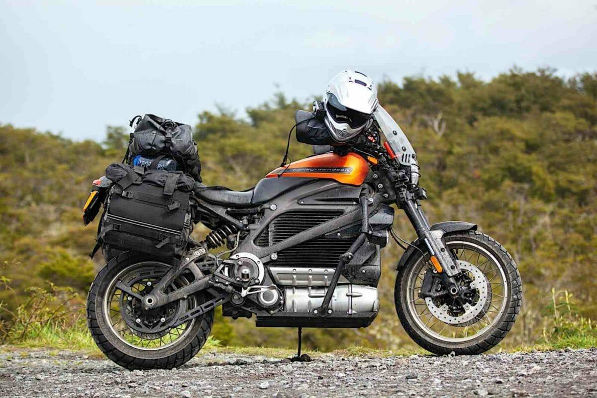 Harley Davidson Livewire long way up