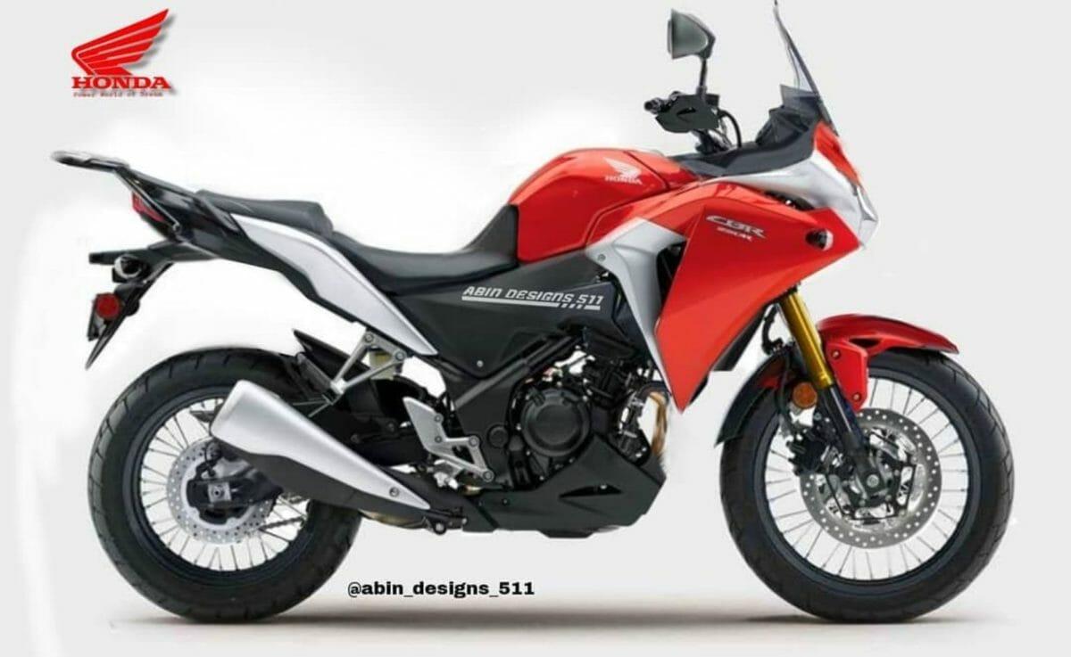 Honda CBR250R adv tourer render (1)