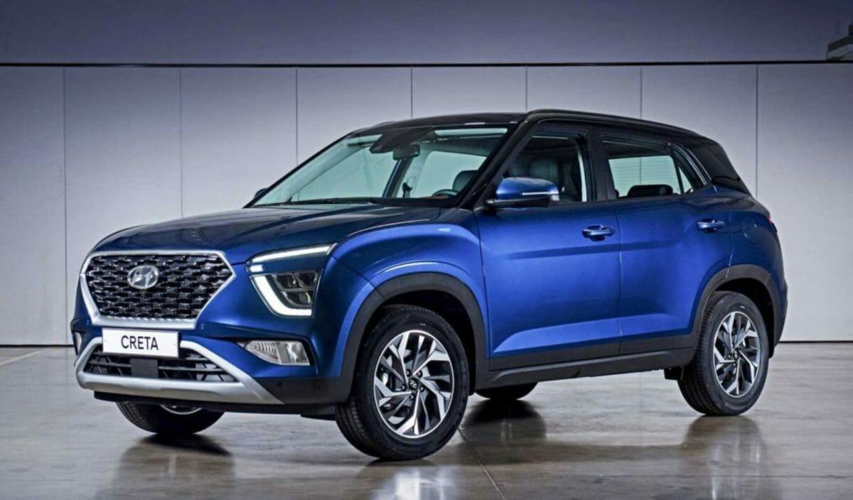 Hyundai Creta Russia front