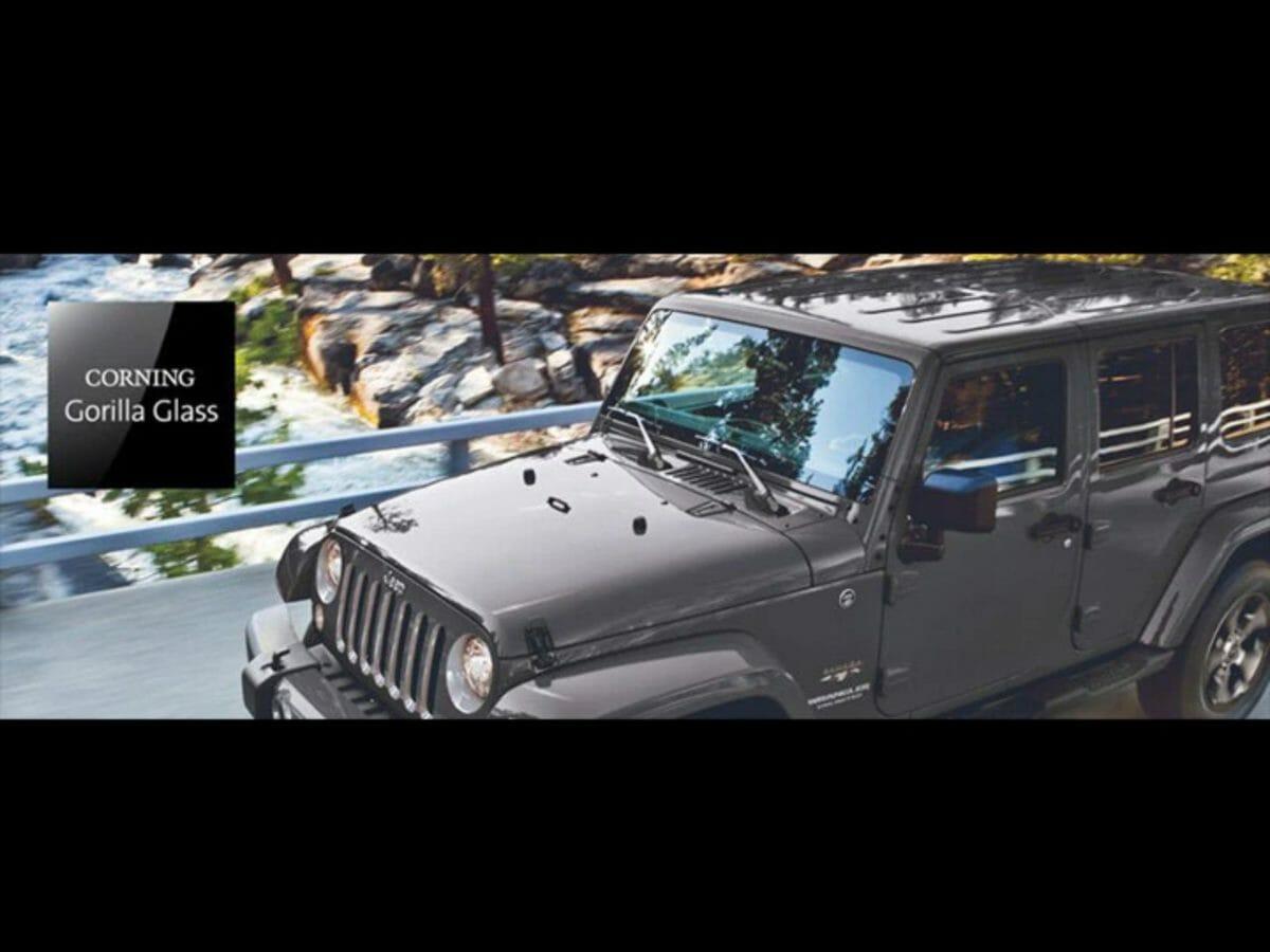 Jeep Gorilla Glass